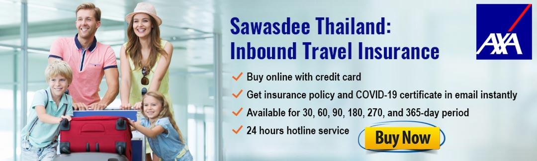 AXA COVID Insurance Thailand